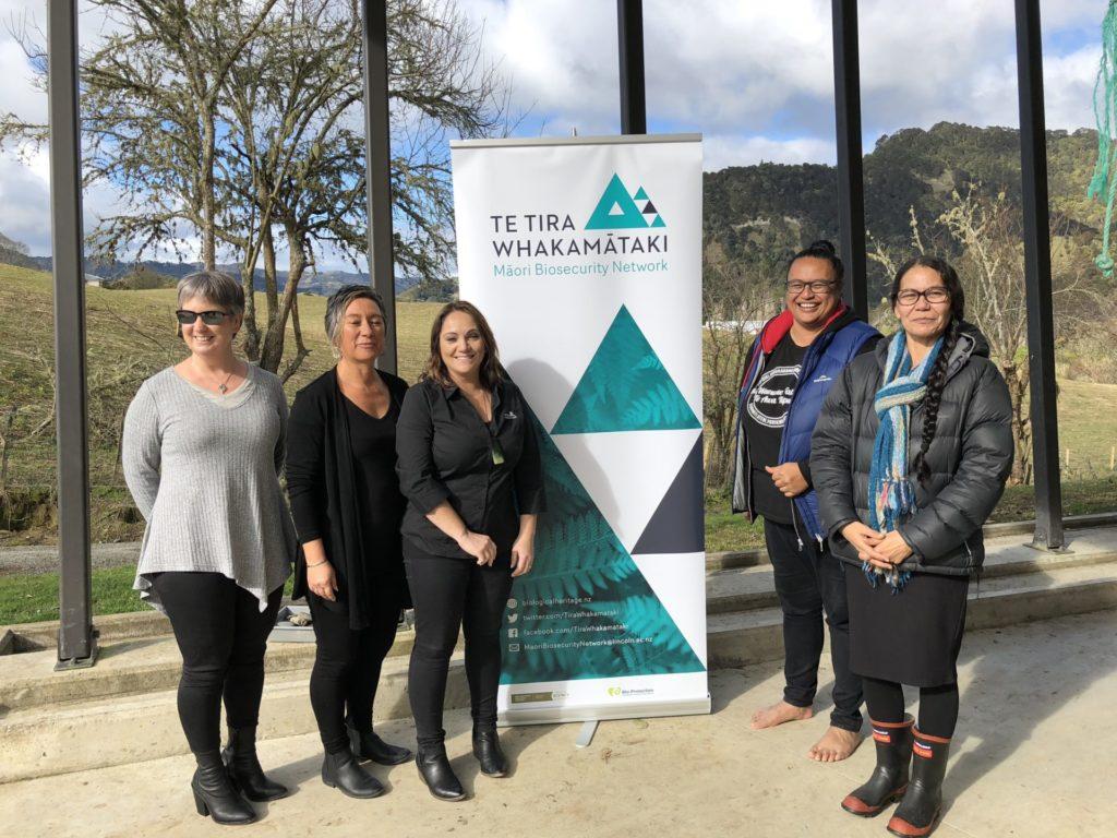 Whānau of Te Awa Tupua have been gifted a seed-bank